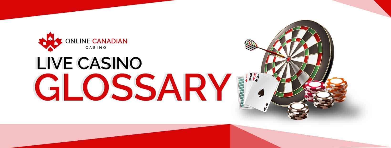 live casino glossary